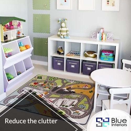 Reduce the clutter