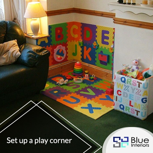 Set up a play corner