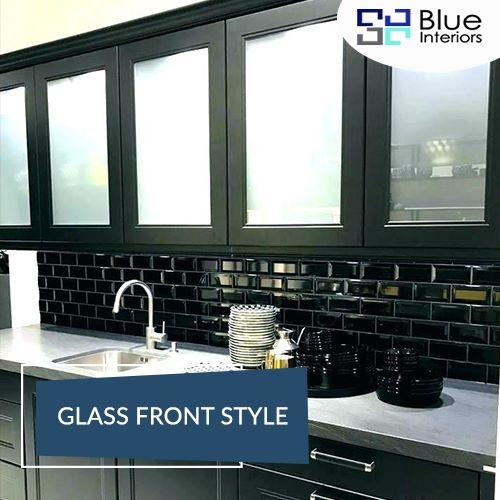 Glass Front Style | Traditional kitchen designs