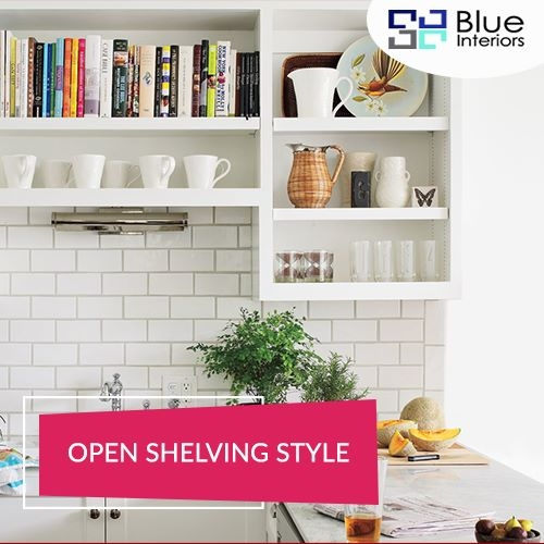 Open Shelving Style | Traditional kitchen designs