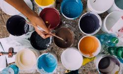 Distemper paints