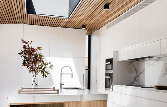 Give Your Kitchen a Unique Look with the Right Ceiling Type