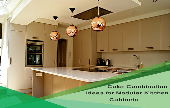 Color Combination Ideas For Modular Kitchen Cabinets Blueinteriors