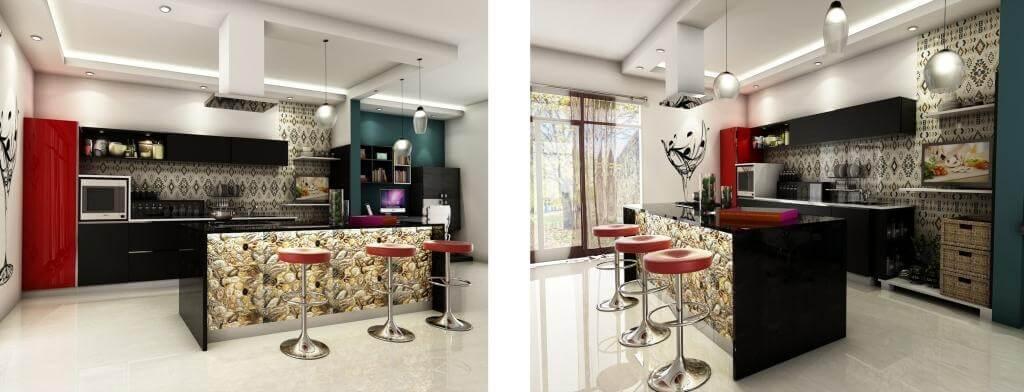 Kitchen Designs  Home Interior Design In White Field ...