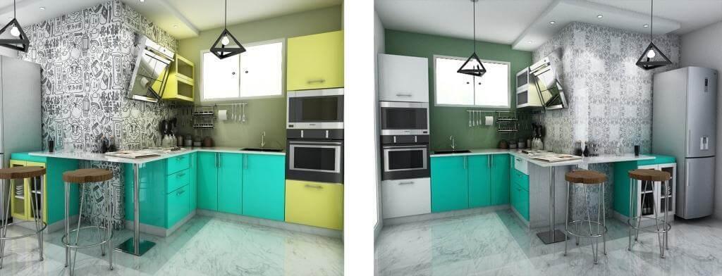 ... Kitchen Designs  Home Interior Design In White Field ...
